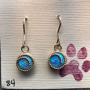 Opal Vermeil Earrings
